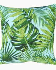Aqua Rainforest Indoor Outdoor Cushion Bungalow Living