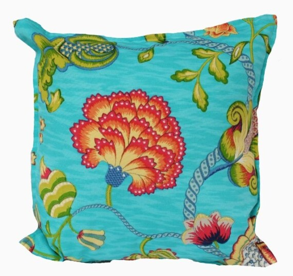 Jaipur Floral Indoor Outdoor Cushion Bungalow Living