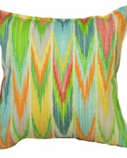 Rainbow Waterfall Rainforest Indoor Outdoor Cushion Bungalow Living