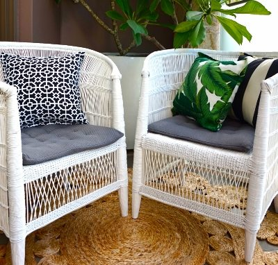Oasis Palm Indoor Outdoor Cushion Bungalow Living