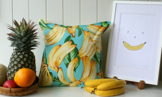 Bananas Indoor Cushion Bungalow Living