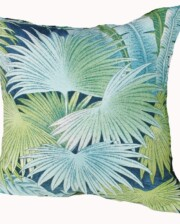 Blue Rainforest Indoor Cushion