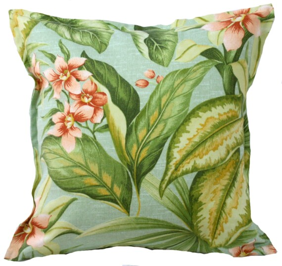 Vintage Orchid Outdoor Indoor Cushion Bungalow Living