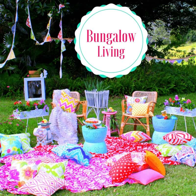 Colourful Cushions Bungalow Living