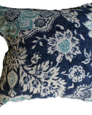 Aegean Blue Indoor Bungalow Living Cushion Cover