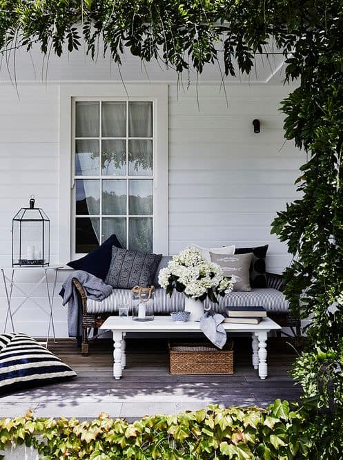 Daybed Country Style Outdoor Living