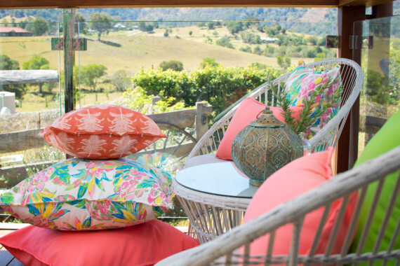 Bungalow Living Pineapple Punch Outdoor Indoor Cushion