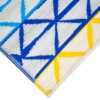 Beach Days Blue & Yellow Outdoor Mat 1