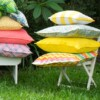 Yellow Outdoor Cushion Bungalow Living Outdoor Cushions