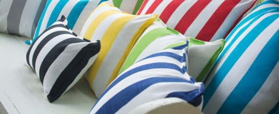 Bungalow Living Outdoor Striped Cushions 2019 Styling Photo 3