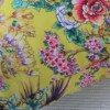 Yellow Chinoiserie 42 CM Square Outdoor Cushion Bungalow Living Australia 3