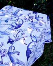 Blue And White China Garden Outdoor Tablecloth Bungalow Living Australia