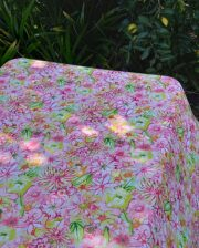 Summer Floral Outdoor Indoor Tablecloth Bungalow Living